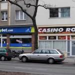 Wettbüro und Casino in der Wexstrasse