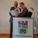 Bürgermedaille an Wolfgang Severin