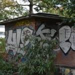 Trafohaus Ostseite Alt