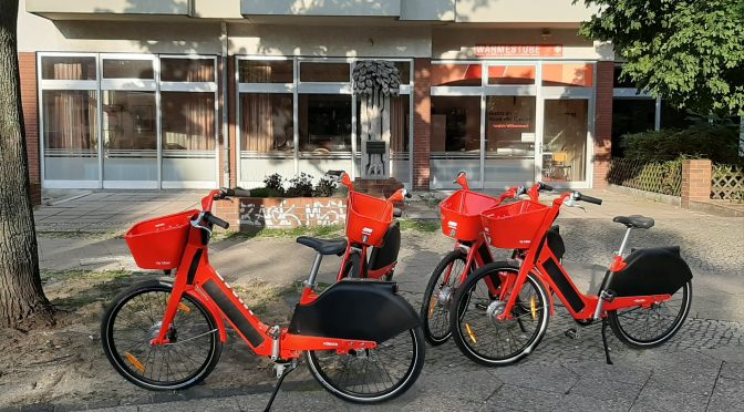 Das Ordnungsamt hat bei den Leihfahrrädern reagiert