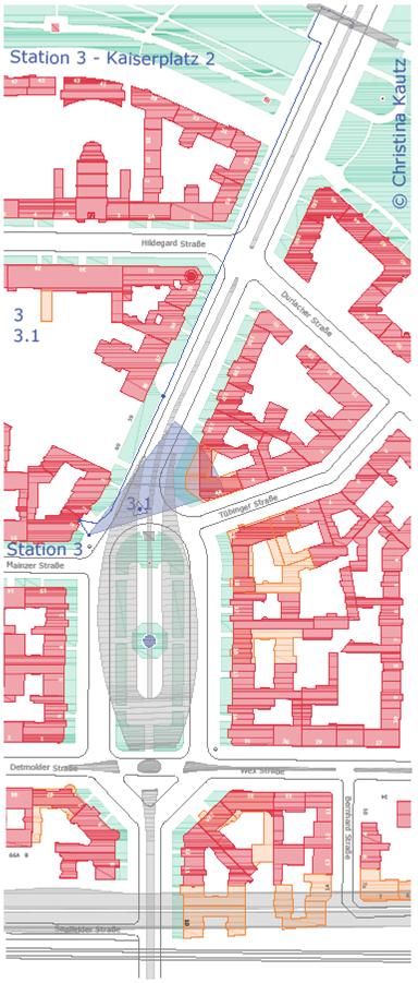 Rundgang 1920 Kaiserplatz | Bundesplatz 2020