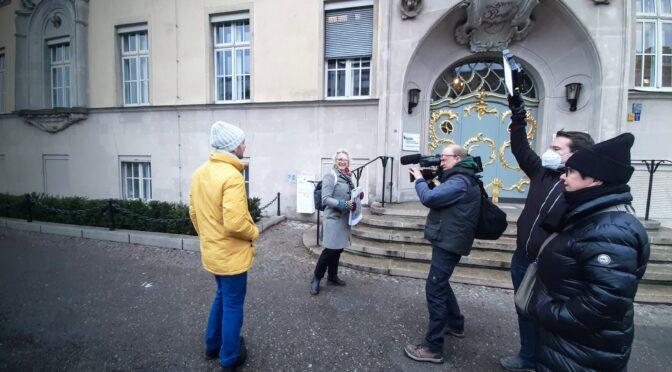Der Bundesplatz im rbb Heimatjournal